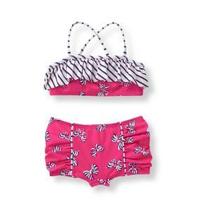 Bow 2-Piece Swimsuit