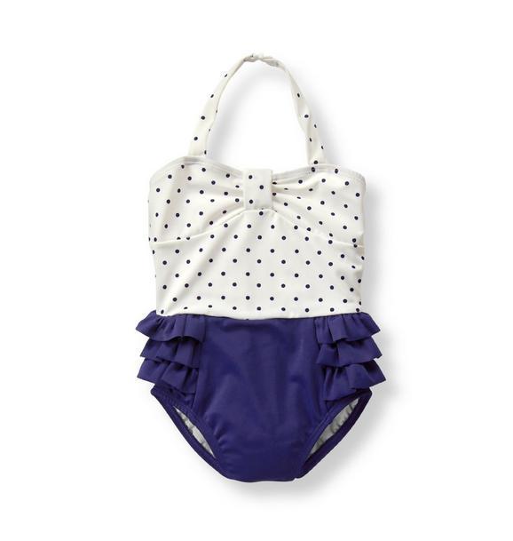 Polka Dot Swimsuit