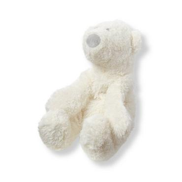 Ivory Plush Polar Bear Toy at JanieandJack