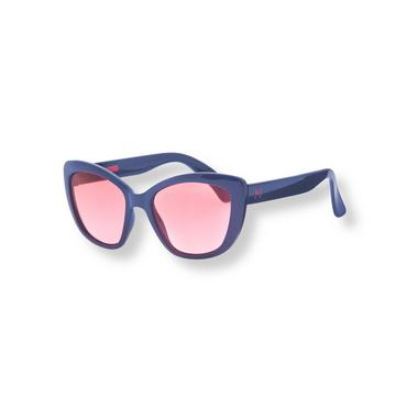 Baby Girl Navy Rose-Tinted Sunglasses at JanieandJack