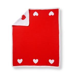 Reversible Heart Blanket