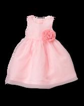 Rosette Organza Dress