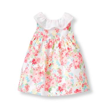 Baby Girl Tulip Pink Floral Floral Dress at JanieandJack