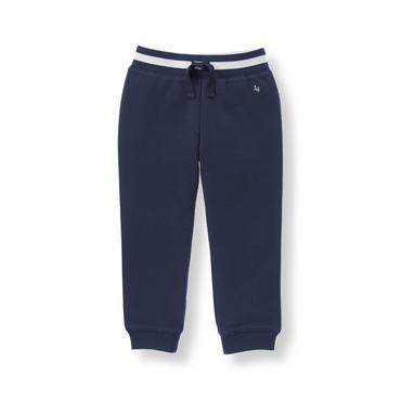 Boys Navy Jogger Pant at JanieandJack