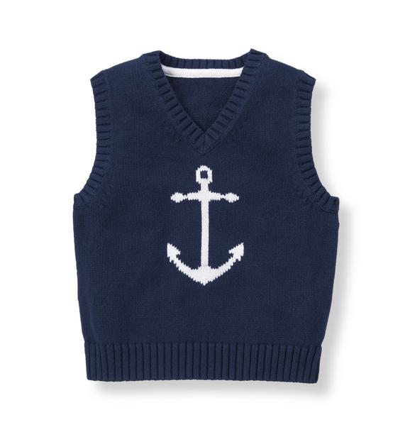 Anchor Sweater Vest
