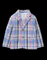 Linen Blend Suit Blazer