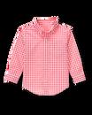 Gingham Poplin Shirt