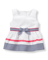 Striped Ribbon Top