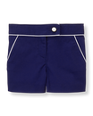 Piped Twill Short