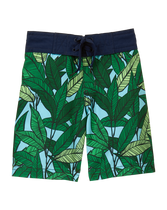 Palm Swim Trunk