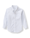 Windowpane Dress Shirt