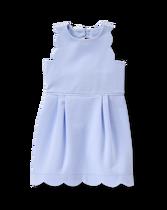 Scallop Ponte Dress