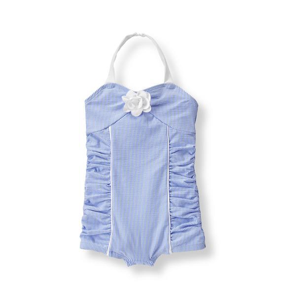 Seersucker Swimsuit