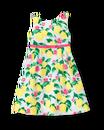 Lemon Pique Dress