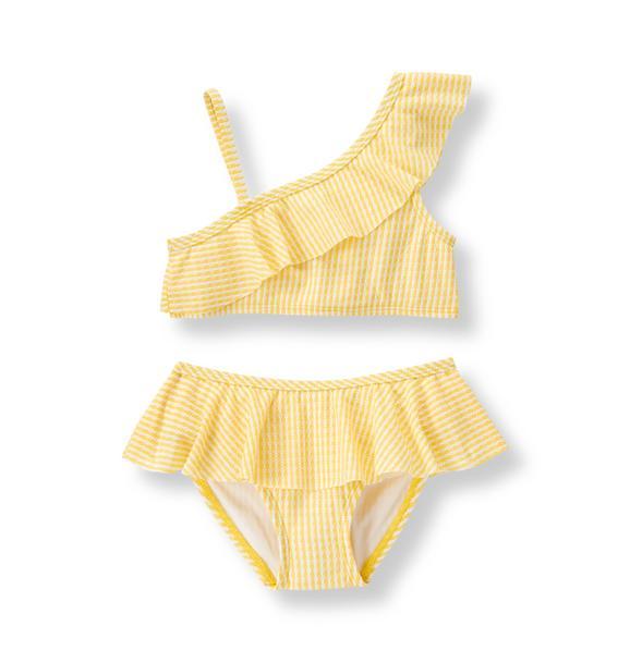 Ruffle 2-Piece Swimsuit