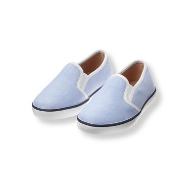 Baby Boy Classic Sky Oxford Sneaker at JanieandJack