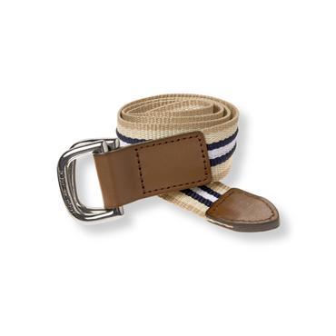 Baby Boy Light Khaki Stripe Striped Belt at JanieandJack
