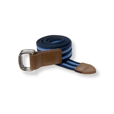 Baby Boy Navy Stripe Striped Belt at JanieandJack