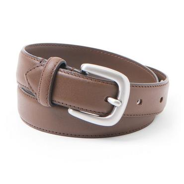 Baby Boy Deep Brown Leather Belt at JanieandJack