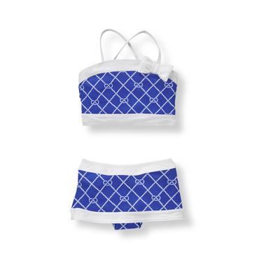 Baby Girl Iris Blue Rope 2-Piece Swimsuit at JanieandJack