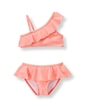 Ruffle 2-Piece Swimsuit