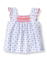 Smocked Tile Top