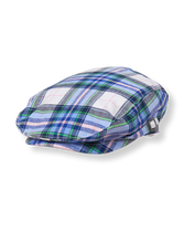 Plaid Poplin Cap
