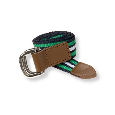 Boys Spearmint Stripe Striped Belt at JanieandJack