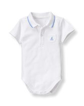 Sailboat Polo Bodysuit