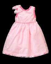 Pick-Stitch Jacquard Dress