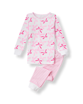 Bow Pajama Set