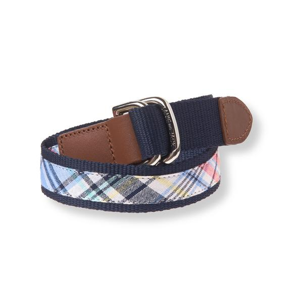 Plaid Belt