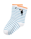 Striped Toucan Sock