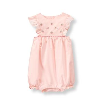 Baby Girl Light Strawberry Strawberry 1-Piece at JanieandJack