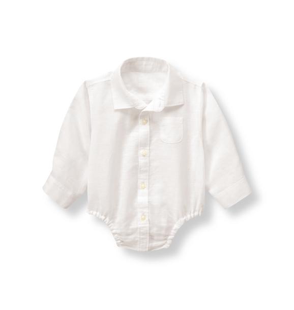 Linen Blend Bodysuit