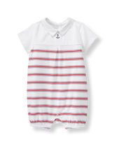 Striped Anchor 1-Piece