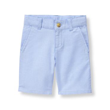 Boys Classic Sky Oxford Short at JanieandJack