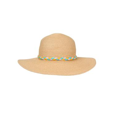 Baby Girl Natural Sparkle Straw Hat at JanieandJack