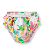 Floral Swim Diaper Cover