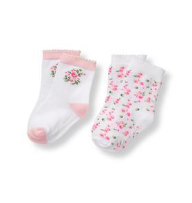 Glow Rose Sock 2-Pack