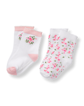 Glow Rose Sock 2-Pack