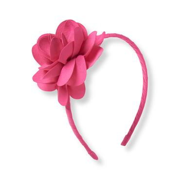 Berry Pink Blossom Headband at JanieandJack