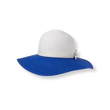 True Blue Colorblock Sun Hat at JanieandJack