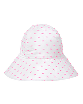 Swiss Dot Sun Hat
