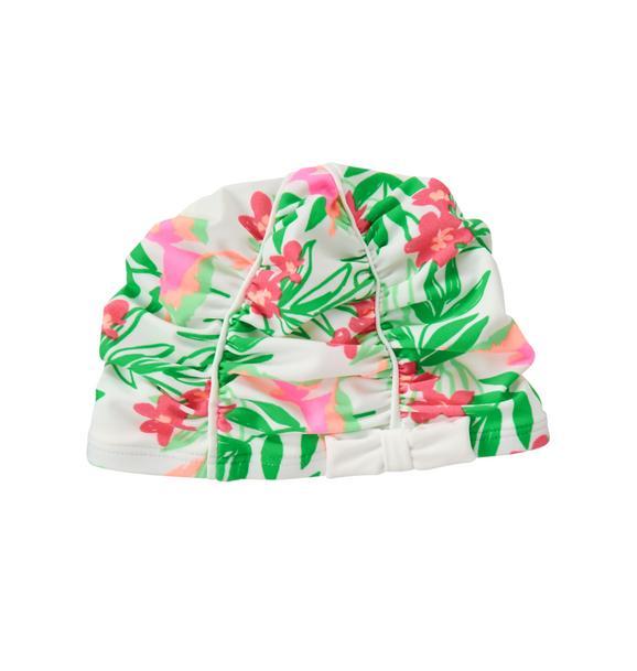 Tropical Swim Cap
