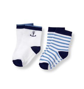 Coastal Sock 2-Pack