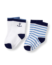 Coastal Sock 2-Pack