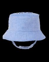 Linen Blend Bucket Hat