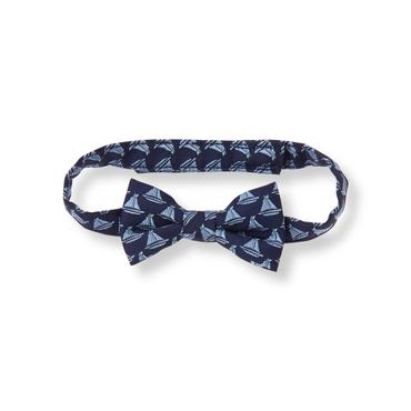 Baby Boy Navy Sailboat Bowtie at JanieandJack