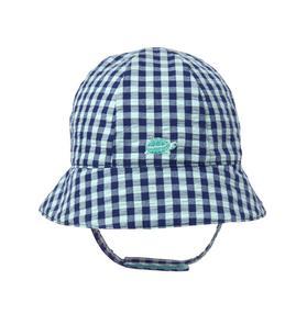 Gingham Turtle Hat